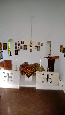 Inside Greek Chapel