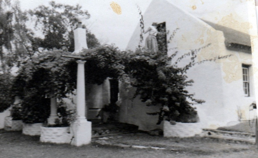 Grootbos carport and house 1958